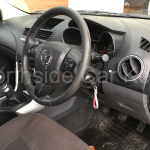 MAZDA BT-50 DUAL CAB 2011 dash with replacement remote key