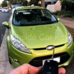 FORD FIESTA HATCHBACK 2009 front with new remote key