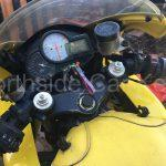 HONDA VTR1000 MOTORCYCLE 2001 dash ignition with new replacement key