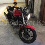 HONDA VTR250 MOTORCYCLE 2007 front