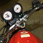 HONDA VTR250 MOTORCYCLE 2007 new replacement key in ignition