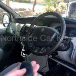RENAULT TRAFIC VAN 2005 dashboard with new remote key