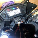 HONDA CBR500RA MOTORCYCLE 2013 dashboard with replacement key