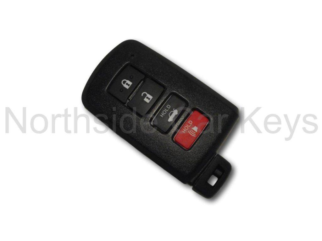Smart key example Toyota